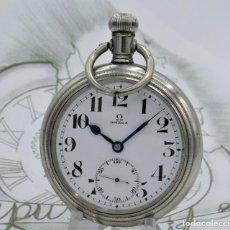 Relojes de bolsillo: OMEGA-RARO,EXCEPCIONAL Y GRAN RELOJ DE BOLSILLO-CIRCA 1910-FUNCIONANDO. Lote 169932352