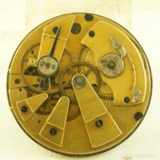 Relojes de bolsillo: RARA MAQUINA ANTIGUA BOLSILLO EXTRAPLANA MECANICA FR1. Lote 169940480
