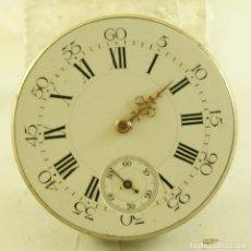 Relojes de bolsillo: CURIOSA MAQUINA ANTIGUA BOLSILLOPONTI FRERES FR5. Lote 169940516