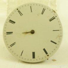 Relojes de bolsillo: RARA MAQUINA ANTIGUA BOLSILLO EXTRAPLANA MECANICA FR2. Lote 169940492