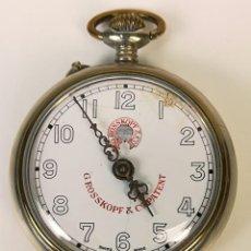 Relógios de bolso: RELOJ DE BOLSILLO. CAJA DE METAL. G. ROSSKOPF . Lote 169949992