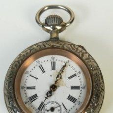 Relojes de bolsillo: RELOJ DE BOLSILLO. CAJA DE METAL. URANIA. SIGLO XIX-XX. SUIZA. Lote 169967732