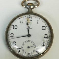 Relojes de bolsillo: RELOJ DE BOLSILLO. CAJA DE METAL. OMEGA. SIGLO XX. SUIZA. Lote 169986096