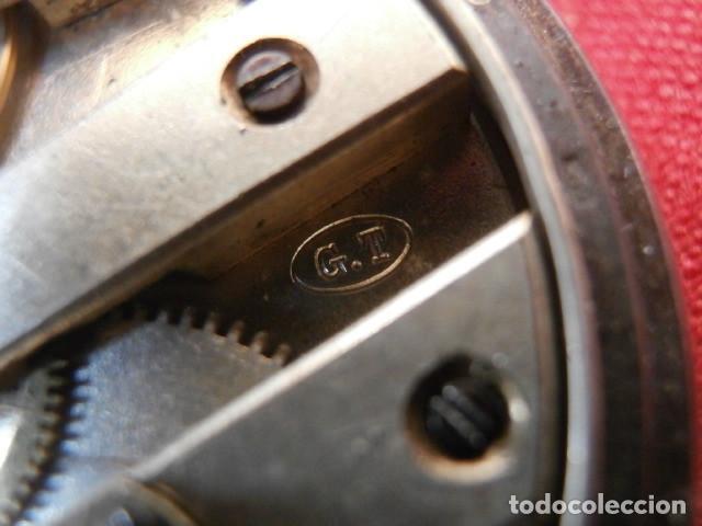 Relojes de bolsillo: Antiguo reloj suizo de bolsillo a cuerda manual en plata falta llave año 1850 1890 y no funciona - Foto 9 - 170013452