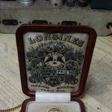 Relojes de bolsillo: RELOJ DE BOLSILLO LONGINES ORO 4 GRAND PRIX CIRCA 1900. Lote 170034589