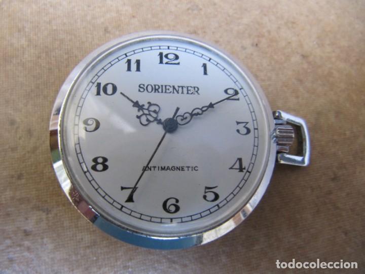 ANTIGUO RELOJ DE CUERDA DE BOLSILLO (Relojes - Bolsillo Carga Manual)