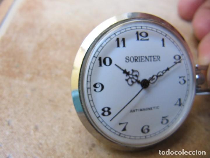 Relojes de bolsillo: ANTIGUO RELOJ DE CUERDA DE BOLSILLO - Foto 7 - 170115740