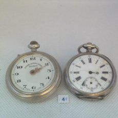 Relojes de bolsillo: LOTE - 4 - 2 RELOJES DE BOLSILLO. Lote 170356056
