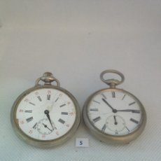 Relojes de bolsillo: LOTE 5 - 2 RELOJES DE BOLSILLO. Lote 170357052