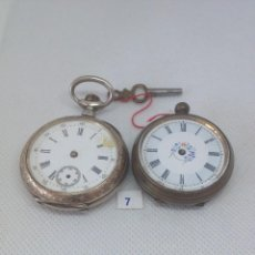 Relojes de bolsillo: LOTE - 7 - 2 RELOJES DE BOLSILLO. Lote 170380064