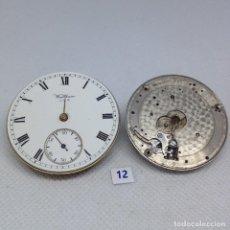 Relojes de bolsillo: LOTE - 12 .- 2 MAQUINARIAS RELOJ BOLSILLO. Lote 170392496