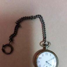 Relojes de bolsillo: RELOJ DE BOLSILLO,ANTIGUO,FUNCIONA. Lote 170440684