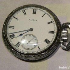 Relojes de bolsillo: RELOJ DE BOLSILLO MARCA ELGIN (EEUU) DEL TAMAÑO 16 SIZE - FUNCIONA PERFECTAMENTE. Lote 170447860