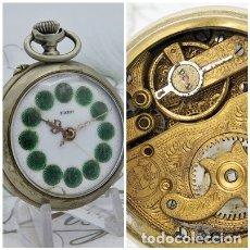 Relojes de bolsillo: FARO-RELOJ DE BOLSILLO-ROSKOPF-CIRCA 1900-FUNCIONANDO. Lote 170555052
