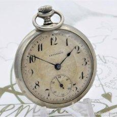 Relojes de bolsillo: LEPANTOS-RELOJ DE BOLSILLO-CIRCA 1920-FUNCIONANDO. Lote 170559848