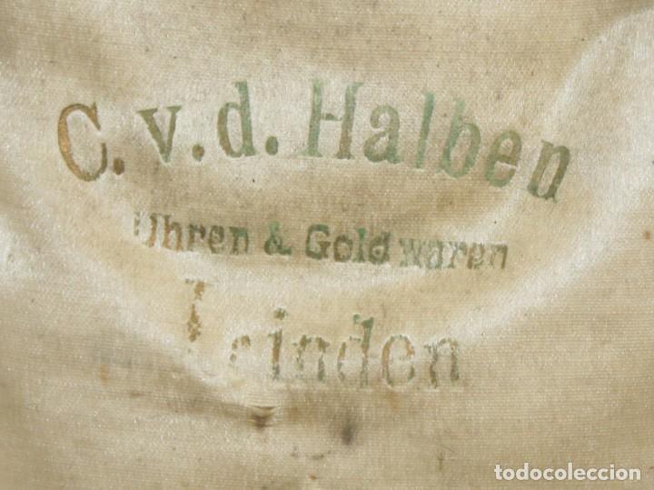 Relojes de bolsillo: RELOJ CATALINA INGLES DE PLATA - 1853. CON CADENA DE PLATA. FUNCIONANDO. - Foto 11 - 171169283