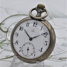 Relojes de bolsillo: OMEGA-MUY RARO RELOJ DE BOLSILLO-CIRCA 1895-FUNCIONANDO. Lote 171366943