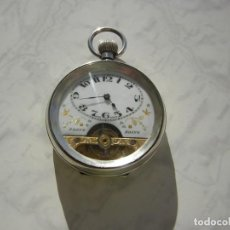 Relojes de bolsillo: RELOJ DE BOLSILLO HEBDOMAS 8 DÍAS-JOURS-DAYS DE PLATA MACIZA AÑO 1919. Lote 171402533