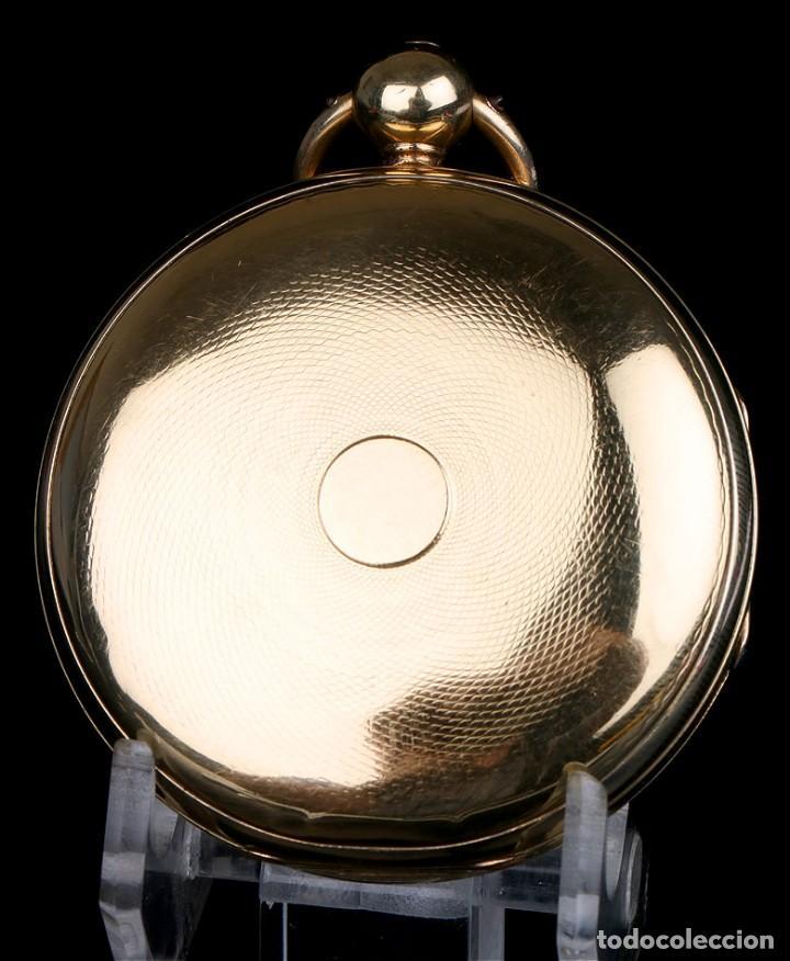Relojes de bolsillo: Antiguo Reloj de Bolsillo en Oro de 18K. Henry Sharples. Inglaterra, 1833 - Foto 7 - 171497823