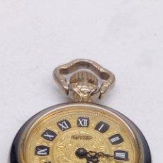 Relojes de bolsillo: RELOJ DE BOLSILLO THERMIDOR DE CARGA MANUAL CON ESMALTE. Lote 171523120