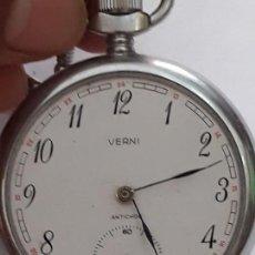 Relojes de bolsillo: RELOJ DE BOLSILLO VERNI. FUNCIONA. Lote 171527755