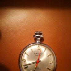 Relojes de bolsillo: ANTIGUO RELOJ CAUNY DE BOLSILLO 4 CTMOS FUNCIONANDO, NO TIENE RALLONES EN EL CRISTAL, CONSERVADO. Lote 171652038