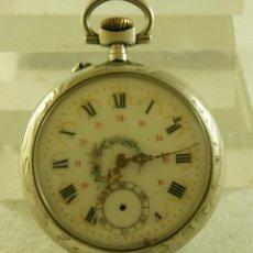 Relojes de bolsillo: RELOJ BOLSILLO BONITA CAJA Y ESFERA. Lote 171675549