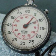 Relojes de bolsillo: CRONOMETRO SUIZO HEUER. Lote 171974789