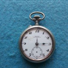 Relojes de bolsillo: ANTIGUO RELOJ MARCA MOERIS DE BOLSILLO. MILÁN 1906.. Lote 172095235