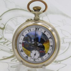 Relojes de bolsillo: OTOMANO ROSKOPF-PRECIOSO RELOJ DE BOLSILLO-CIRCA 1900-1920-FUNCIONANDO. Lote 172115032