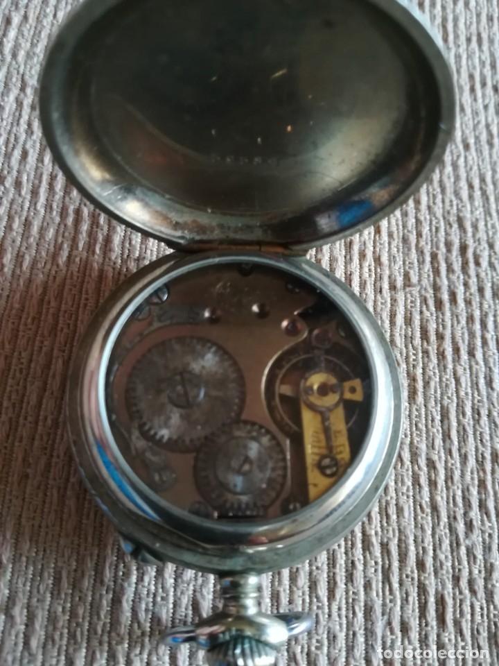 Relojes de bolsillo: Lote 3 Cuervo y Sobrinos - Foto 3 - 172130837