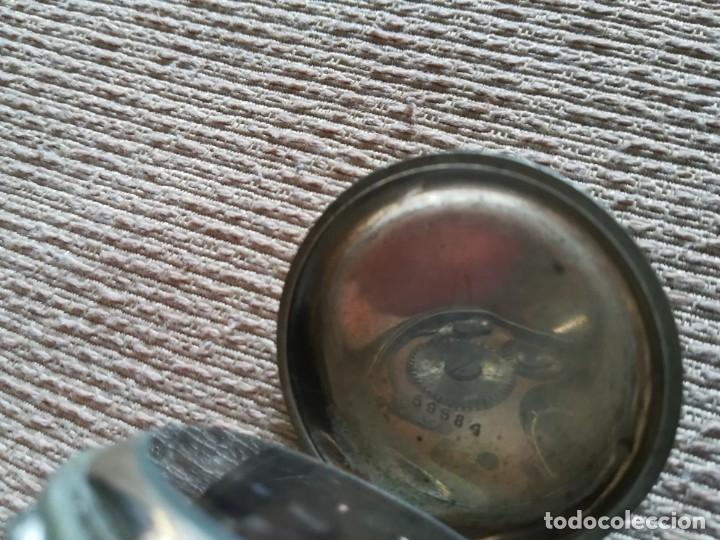 Relojes de bolsillo: Lote 3 Cuervo y Sobrinos - Foto 5 - 172130837