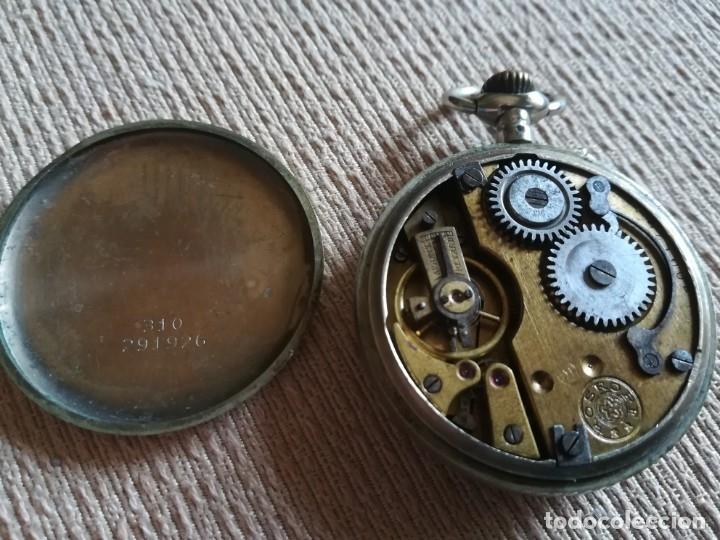 Relojes de bolsillo: Lote 3 Cuervo y Sobrinos - Foto 6 - 172130837
