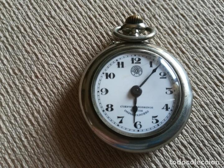 Relojes de bolsillo: Lote 3 Cuervo y Sobrinos - Foto 8 - 172130837