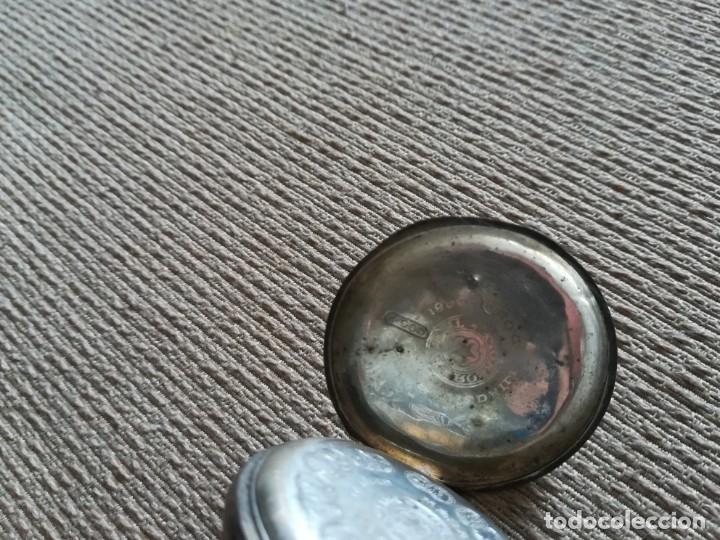 Relojes de bolsillo: Lote 3 Cuervo y Sobrinos - Foto 11 - 172130837