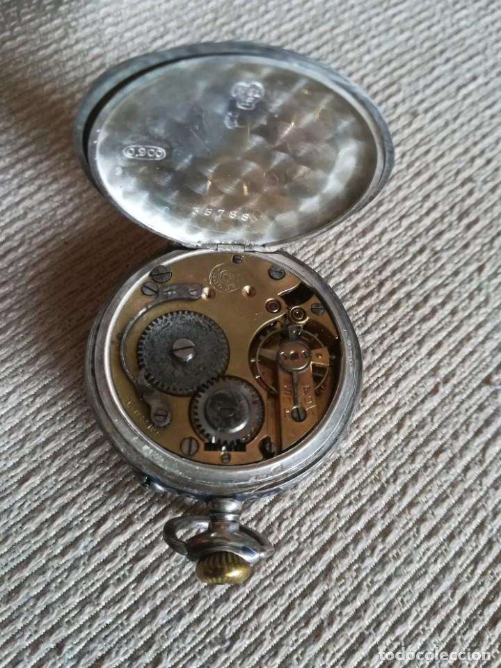 Relojes de bolsillo: Lote 3 Cuervo y Sobrinos - Foto 12 - 172130837