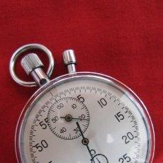 Relojes de bolsillo: ANTIGUO CRONÓMETRO MECANICO DE BOLSILLO UNIÓN SOVIÉTICA URSS RUSO SOVIETICO MARCA AGATA Y FUNCIONA !. Lote 172177164