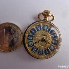 Relógios de bolso: AÑOS 60 RETRO VINTAGE Y BONITO RELOJ A CUERDA DE COLGAR DE ENFERMERA THERMIDOR, COMPLETO Y FUNCIONAN. Lote 172565387