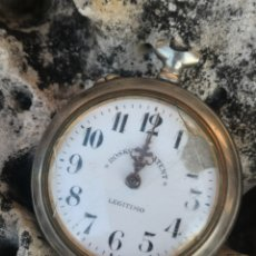 Relojes de bolsillo: C1/2 RELOJ DE BOLSILLO ROSKOPF LEGÍTIMO. Lote 172625548