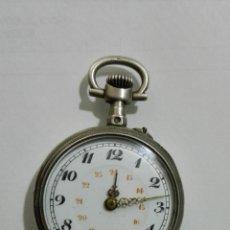 Relojes de bolsillo: PEQUEÑO Y ANTIGUO RELOJ DE PLATA, DIAMETRO 27 MM, NO FUNCIONA, PARA REPARAR. Lote 172837943