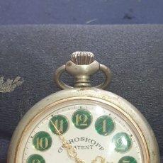 Relojes de bolsillo: RELOJ DE BOLSILLO GRE ROSKOPF 17 JEWELS EN ESTADO DE MARCHA . Lote 172994275