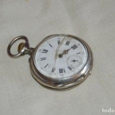 Relojes de bolsillo: ANTIGUO Y VINTAGE - CYLINDRE DIX RUBIS - RELOJ DE BOLSILLO DE CARGA MANUAL - MIRA!. Lote 172997993