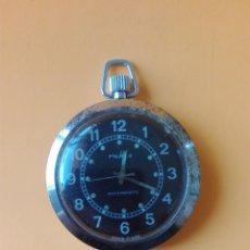 Relojes de bolsillo: RELOJ DE BOLSILLO RUHLA MADE IN GDR. Lote 173205574