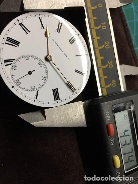 Relojes de bolsillo: Reloj de Bolsillo ZENITH con ESFERA porcelana Cronometer. Muy buen estado Funcionando y revisado. - Foto 7 - 173209333