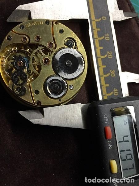 Relojes de bolsillo: Reloj de Bolsillo ZENITH con ESFERA porcelana Cronometer. Muy buen estado Funcionando y revisado. - Foto 8 - 173209333