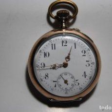 Relojes de bolsillo: RELOJ SUIZO DE PLATA 800 MIL DE MONJA , CON SU CAJA JOYERO DE CRISTAL BISELADO TODO ORIGINAL. Lote 173383513
