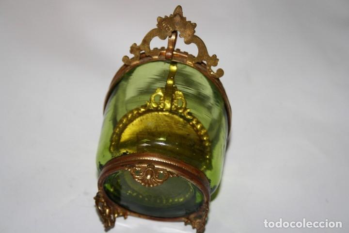 Relojes de bolsillo: RELOJ DE MONJA DE PLATA ,FUNCIONA LONGINES CON SU JOYERO DE CRISTAL BISELADO - Foto 16 - 173386878