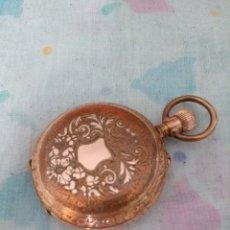 Relojes de bolsillo: RELOJ DE BOLSILLO CHAPADO EN ORO. Lote 173418983