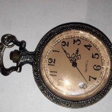 Relojes de bolsillo: RELOJ DE BOLSILLO CUARZO. Lote 173452844