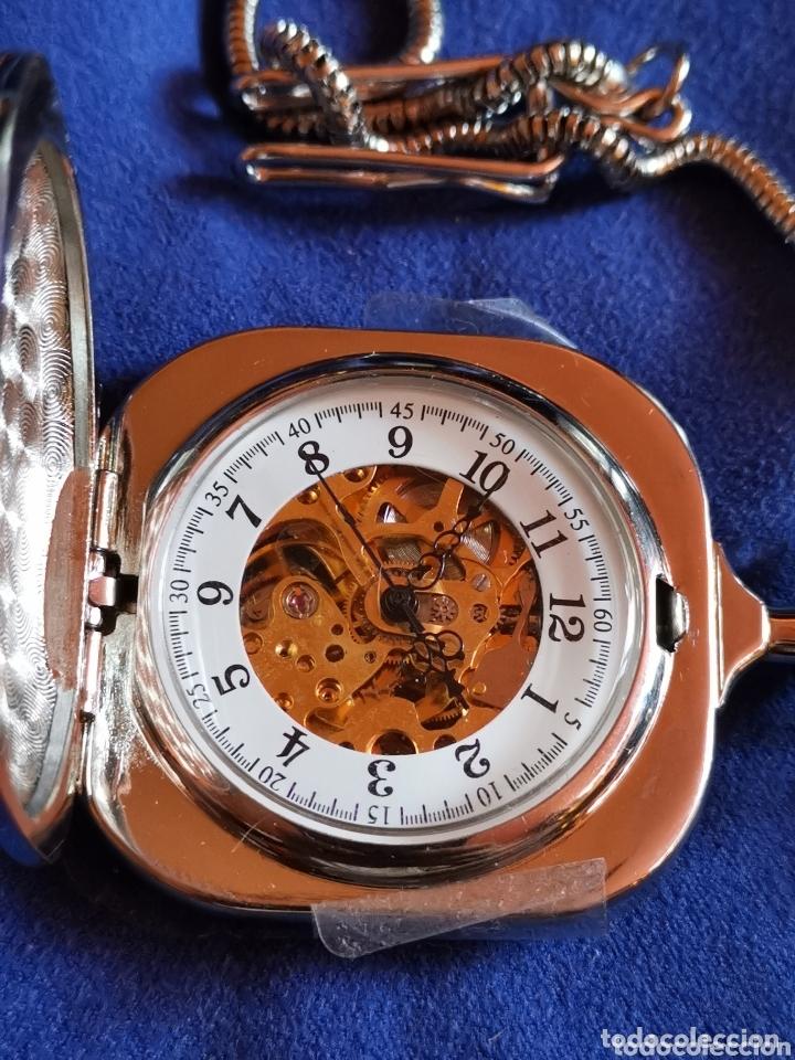 RELOJ DE BOLSILLO MÁQUINA VISTA (Relojes - Bolsillo Carga Manual)